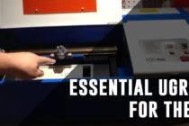 Upgrades for the k40 laser cutter