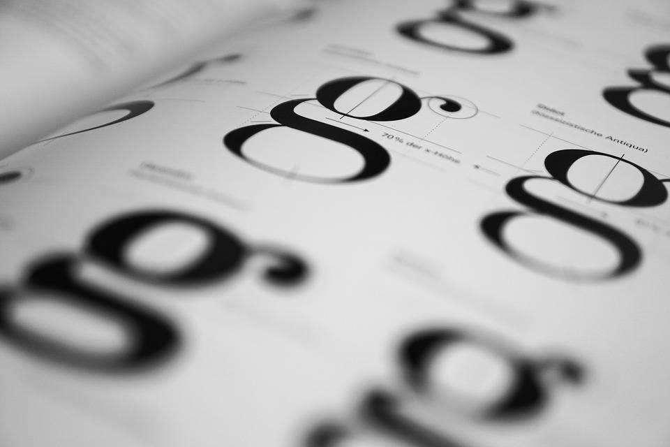 Laser cutting fonts