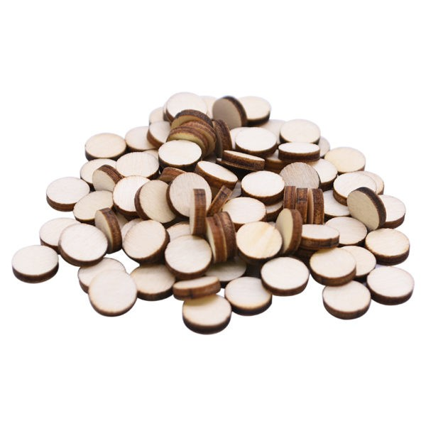 Bulk wholesale blank wooden coasters